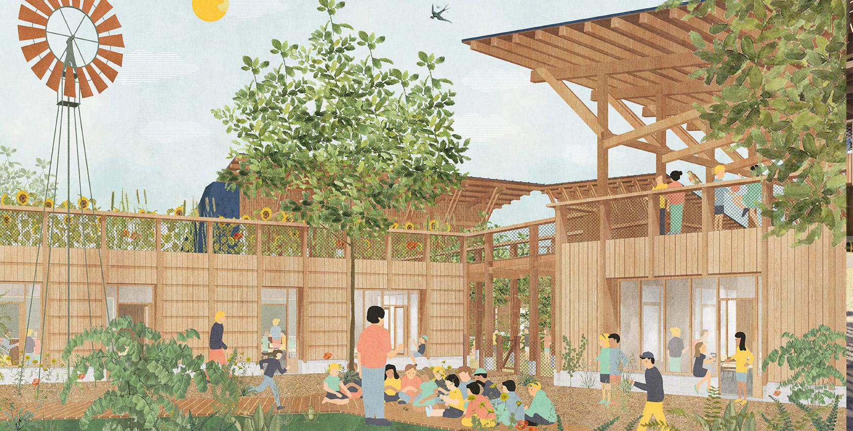Rêver l'école à Bruges (33) _ avec CB construire_en cours
